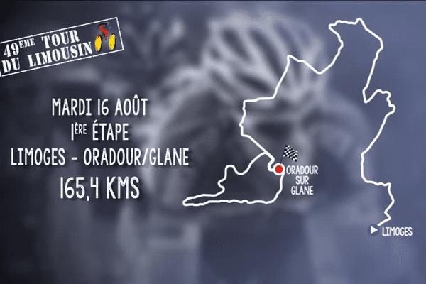 La première étape du Tour du Limousin 2016 en détails