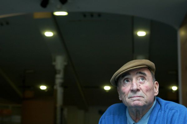 Le comédien Claude Brasseur en 2005 à Paris