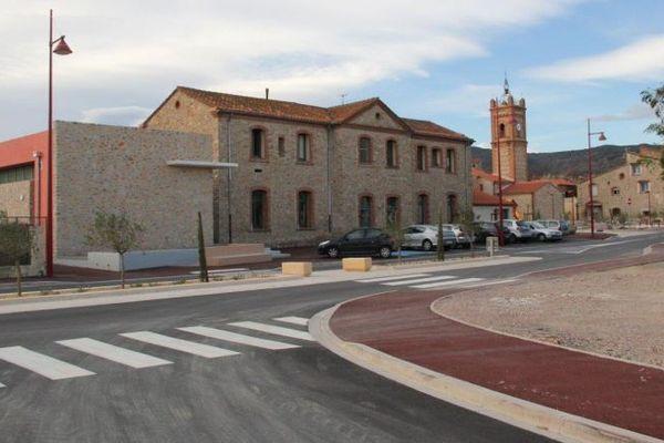 L'école de Corbères, dans les Pyrénées-Orientales / © Mairie de Corbères