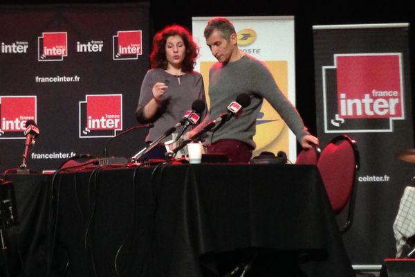 Nagui présentera en direct de Reims son émission La Bande Originale, entre 11 heures et 12h30.