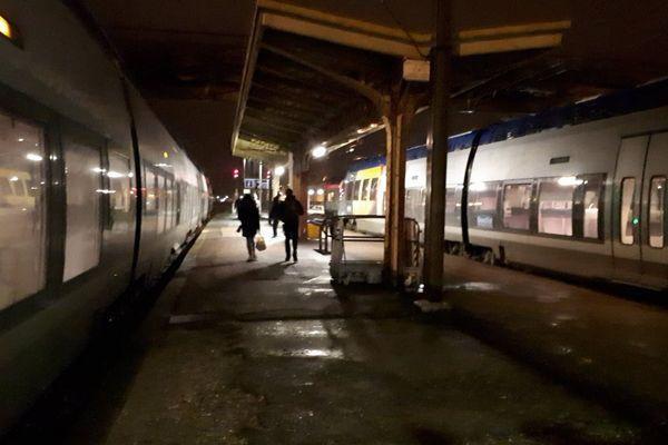 Le trafic a été interrompu ce mercredi 28 novembre 2018 en raison d'actes de malveillance sur la ligne Saint-Dié-Epinal.
