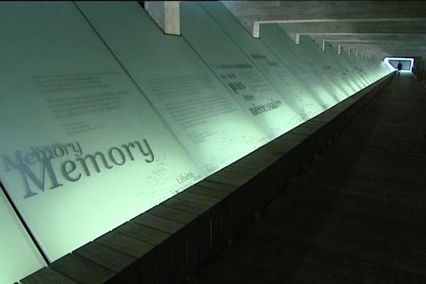 Le Mémorial de l'Abolition de l'Esclavage à Nantes où arrivera le cortège ce vendredi 10 mai