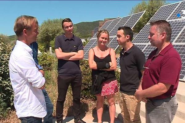 Stepsol est une société qui a conçu et développe une solution de stockage d'énergie à partir de l'énergie solaire.