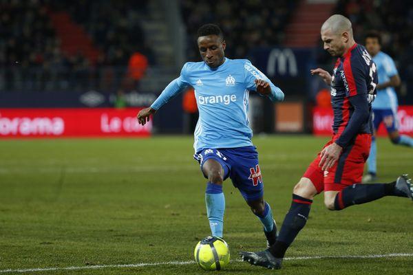 22 ème journée de Ligue 1, l'Olympique de Marseille s'impose au stade Malherbe de Caen.