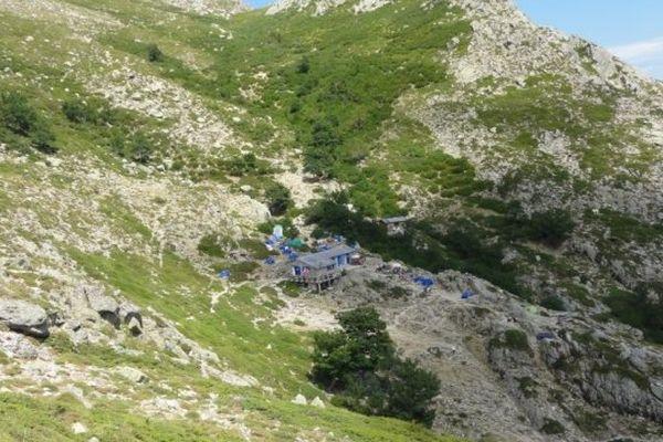Refuge d'Usciolu sur le GR20