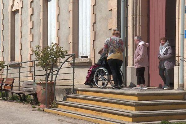 Ganges (Hérault) - les résidents de l'Ehpad - mars 2020.