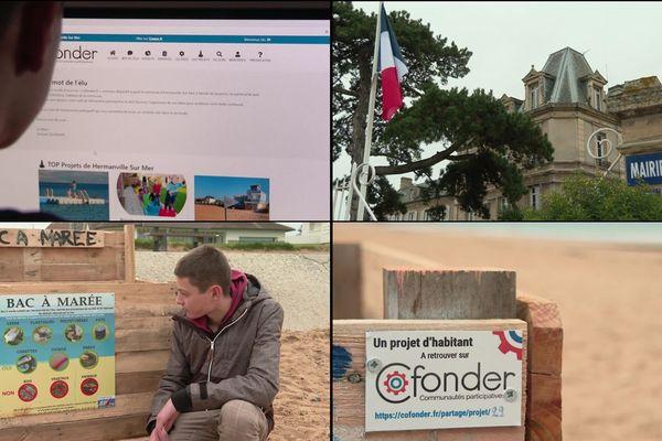 Le site Cofonder permet aux habitants d'Hermanville-sur-Mer de proposer des projets pour la commune à leurs élus