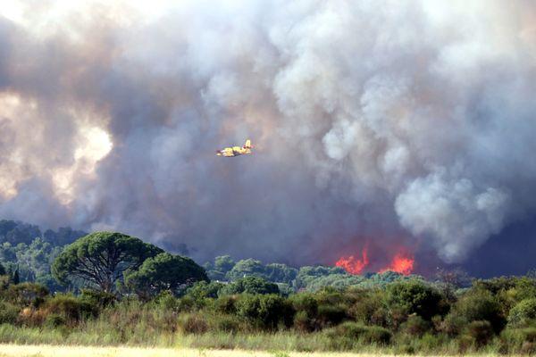 Le débroussaillement est obligatoire afin de limiter les feux de forêt, comme à Générac (Gard en 2019), où 480 hectares avaient été touchés.