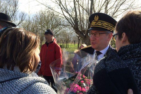 Officiels et élus étaient présents lors de l'hommage.
