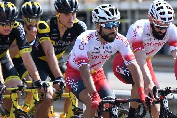 Nacer Bouhanni sur le tour d'Oman en février dernier.