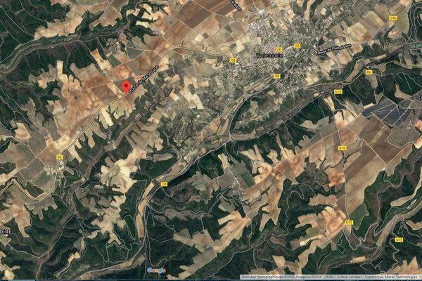 30 pompiers ont été engagés sur cet accident dur la D6 entre Manosque et Valensole, ce dimanche 31 mai.