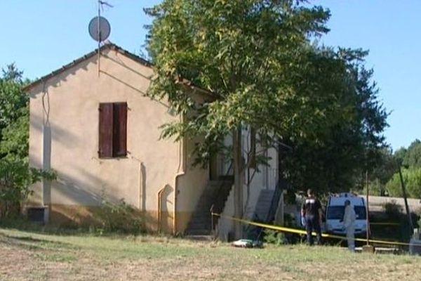 L'un des 2 braqueurs a été arrêté en août dans cette maison, à Mouans-Sartoux