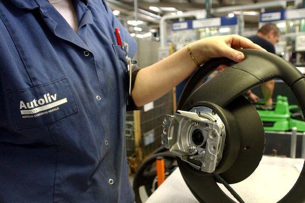 L'usine Autoliv Isodelta de Chire-en-Montreuil dans la Vienne emploie actuellement 400 salariés.
