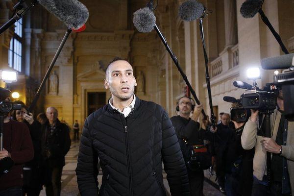 Naoufal Ibn Ziaten au procès Merah en novembre 2017.