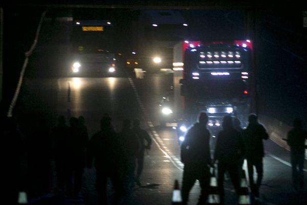 C'est le 10e décès d'un migrant à Calais depuis le début de l'année (illustration)