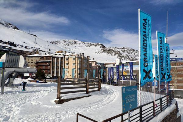Illustration : la station de ski de Grandvalira en Andorre