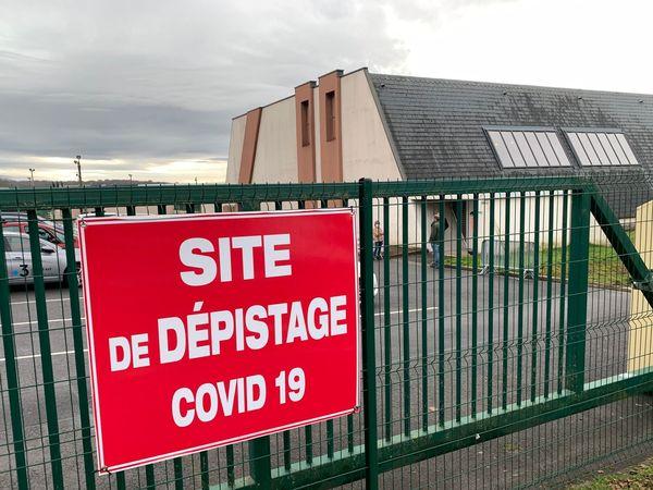Le site de dépistage de Villers-Semeuse dans les Ardennes