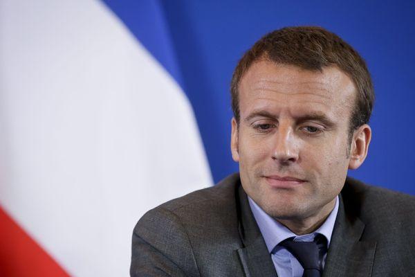 Emmanuel Macron, en juillet 2015.