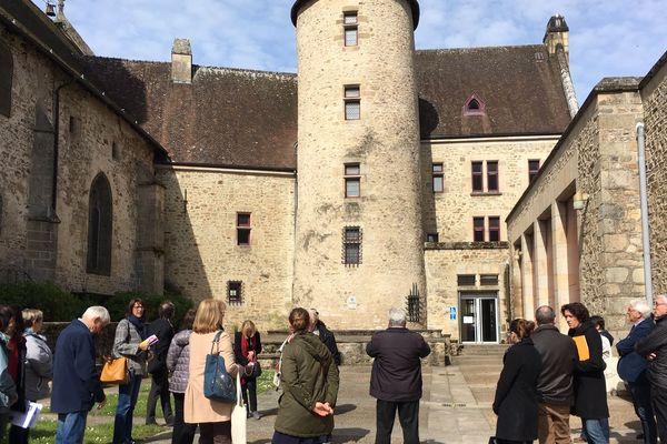 """Visité d'éligibilité pour Bourganeuf 'Petites Cités de Caractère"""""""