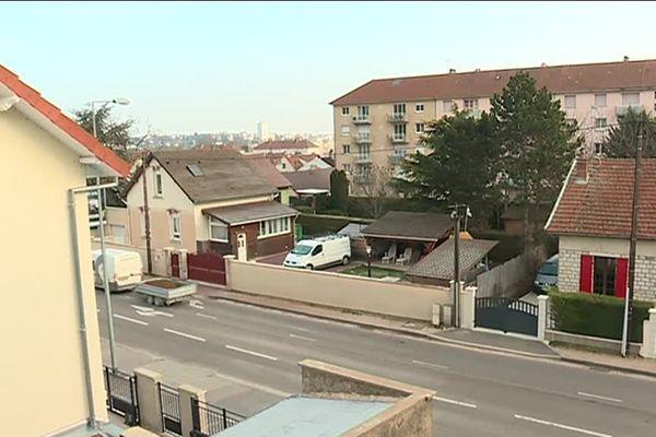Le boulevard des Valendons à Dijon