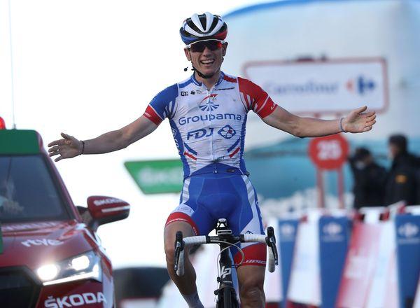 David Gaudu, vainqueur d'étape sur la Vuelta 2020