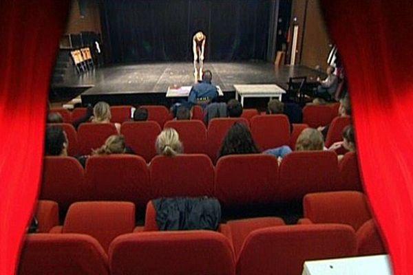Les auditions au conservatoire de Rouen.