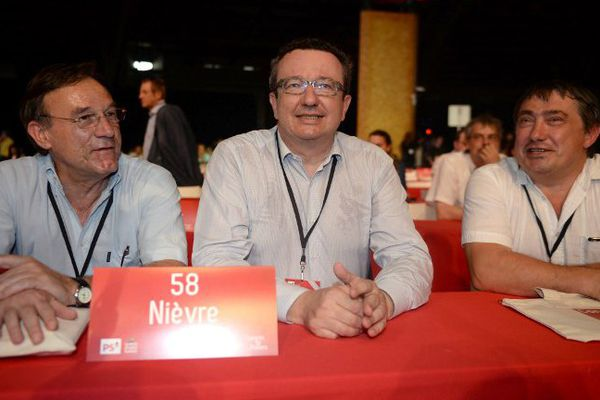 Christian Paul, député de la Nièvre et chef de file des frondeurs du PS.