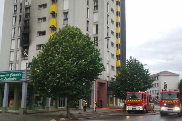 L'incendie a pris au troisième étage