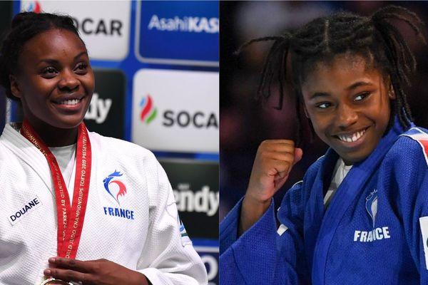 Les judokas Madeleine Malonga et Sarah-Léonie Cysique aux mondiaux de Tokyo - Août 2019