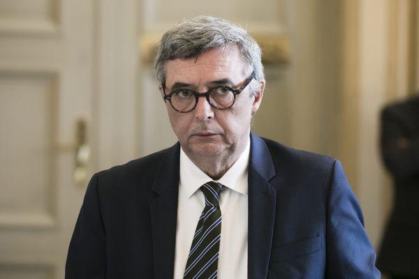 Le nouveau président du département (LR) de Seine-et-Marne, Jean-François Parigi.