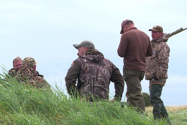 Ils étaient plus de 300 à venir chasser le gibier d'eau en Baie d'Authie samedi 07 août.