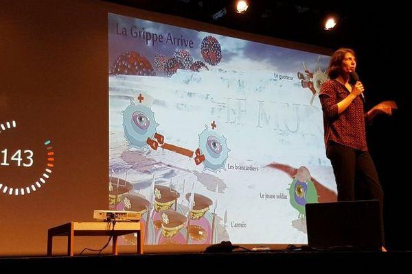 @DiagonaleSaclay - Pauline Maisonnasse prix du jury et du public de l'université Paris-Saclay