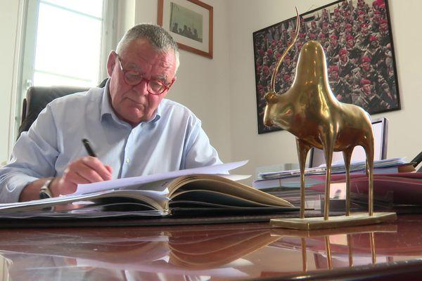Patrick Marengo, le maire Les Républicains de Royan.