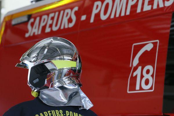 Les pompiers ont dû intervenir pour un feu de poids lourd sur l'A11 - Photo d'illustration