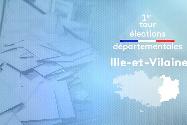 1er tour des élections départementales en Ille-et-Vilaine