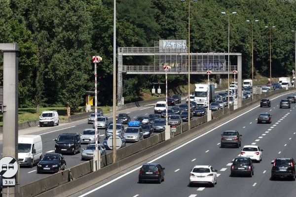 La circulation est difficile sur l'autoroute A6. (Photo d'illustration)