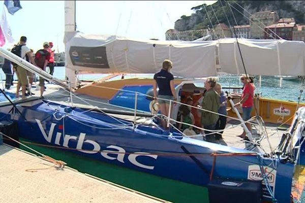 Le St-Michel Virbac, bateau de Jean-Pierre Dick pour son 4è Vendée Globe