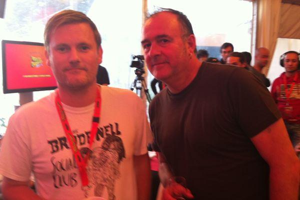 Geoff Barrow et Adrian Utley