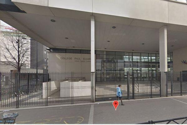 Le collège Paul Eluard à Montreuil