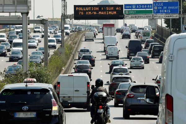 La zone à faible émission a été mise en place le 1er juillet dans le Grand Paris.