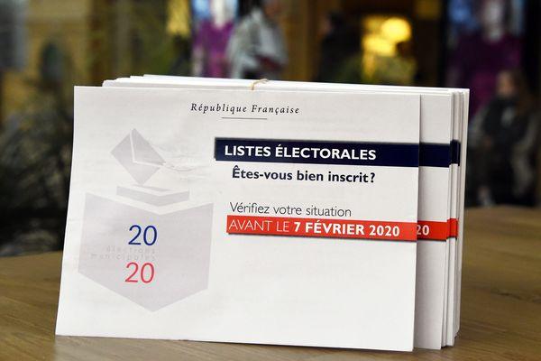 Sensibilisation à l'inscription sur les listes électorales - Janvier 2020