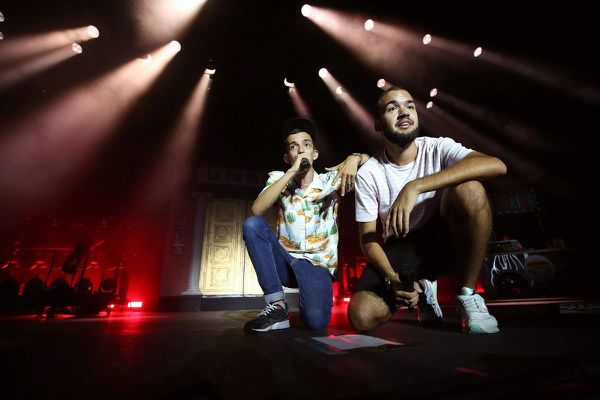 Bigflo et Oli en concert