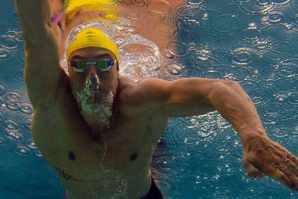 Florent Manaudou a été devancé en finale du 50m nage libre