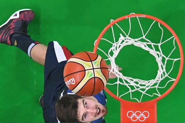 Le basketteur arrageois Nando de Colo, meilleur marqueur français aux JO.