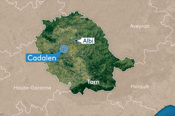 Un motard a fait une sortie de route mortelle sur la commune de Cadalen ce samedi matin