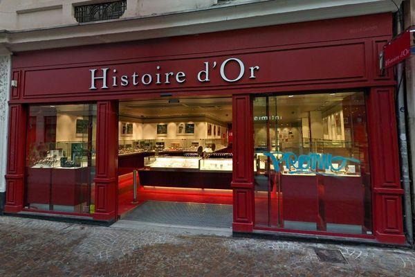 Un homme a tenté lundi 15 octobre de braquer cet bijouterie de la rue de Béthune.