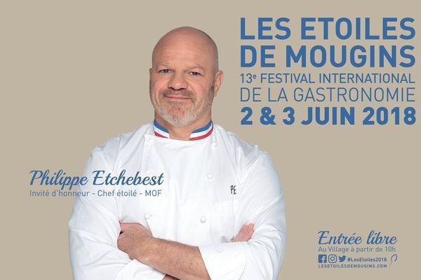 L'affiche de l'édition 2018 avec le chef Philippe Etchebest.
