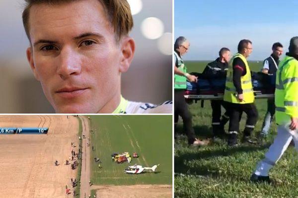 Yoann Offredo a été héliporté au CHR de Lille