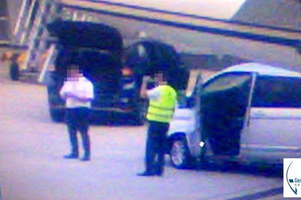 Les trafiquants à l'aéroport de Bâle-Mulhouse.