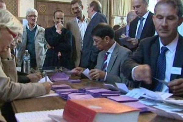 Les votes dans le Cher.